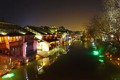 Zona cênico ocidental de Wuzhen Imagem de Stock Royalty Free