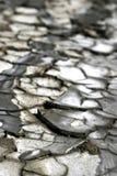 Zona colpita dalla siccità Fotografia Stock Libera da Diritti