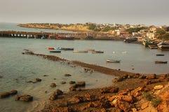 Zona costera de Gujarat Imagenes de archivo