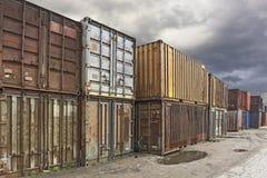 Zona da carga Fotografia de Stock
