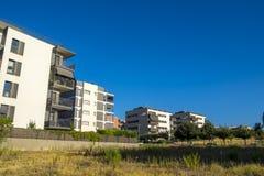Zona da residência em Sant Cugat del Valles em Barcelona fotos de stock