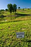 Zona de caída Fotos de archivo libres de regalías