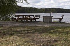 Zona de descanso en la naturaleza Foto de archivo libre de regalías