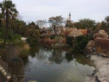 Zona de Disneyland Paris Adventureland fotografia de stock