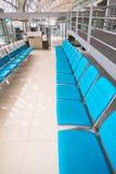 Zona de espera del aeropuerto foto de archivo libre de regalías