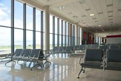 Zona de espera en el aeropuerto en Moscú Imagen de archivo