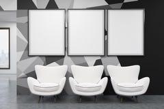 Zona de espera en oficina Fotografía de archivo