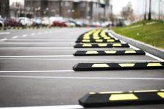 Zona de estacionamento livre Imagens de Stock Royalty Free