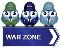 Zona de guerra Foto de archivo