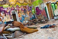 Zona de guerra urbana Imágenes de archivo libres de regalías