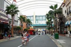 Zona de Hollywood - Singapur Imágenes de archivo libres de regalías