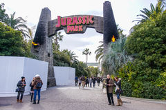 Zona de Jurassic Park fotografia de stock