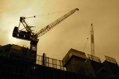 Zona de la construcción Foto de archivo