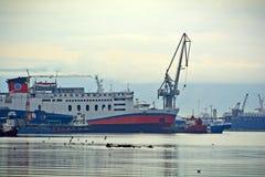 Zona de la construcción naval Fotos de archivo