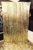 Zona de lujo elegante de la chispa para las fotos en el PA de oro del cumpleaños Fotos de archivo libres de regalías