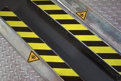 Zona de perigo Imagem de Stock Royalty Free