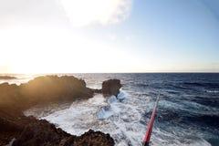 Zona de pesca de Okinawa Fotos de archivo libres de regalías