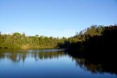 Zona de recreo de agua dulce del estado del  de WahiawÄ Fotos de archivo
