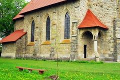 Zona de recreo cerca de la abadía antigua Fotos de archivo libres de regalías