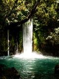 Zona de recreo del parque de las piedras de las caídas Primavera del río de Hermon Imagen de archivo