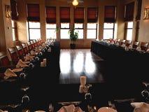 Zona de restaurantes en hotel Foto de archivo libre de regalías