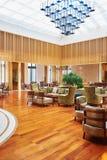 Zona del café del hotel Imagen de archivo