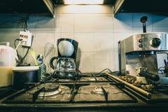 Zona del caffè per cucinare Fotografia Stock