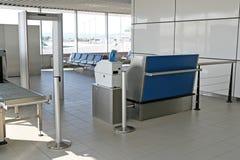 Zona del cancello dell'aeroporto Fotografia Stock Libera da Diritti