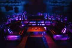 Zona del partito VIP di notte Immagine Stock