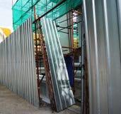 Zona della costruzione, chiesa Immagini Stock Libere da Diritti