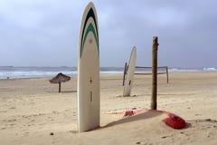 Zona della spiaggia di sport Fotografia Stock Libera da Diritti