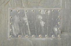 Zona di alluminio Immagini Stock