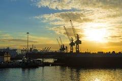 Zona di costruzione navale Fotografia Stock Libera da Diritti