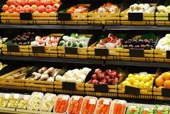 Zona di frutta fresca Immagini Stock Libere da Diritti