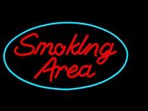 Zona di fumo Fotografie Stock Libere da Diritti
