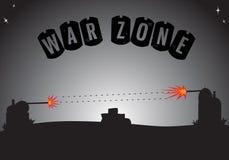 Zona di guerra Immagini Stock Libere da Diritti