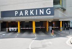 Zona di parcheggio dell'automobile Immagini Stock Libere da Diritti