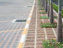 Zona di parcheggio esterna Immagine Stock Libera da Diritti