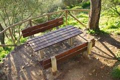 Zona di picnic Immagine Stock Libera da Diritti