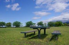 Zona di picnic Immagini Stock Libere da Diritti