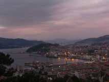 Zona di porta di Vigo, regione della Galizia, Spagna Fotografia Stock
