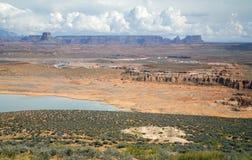 Zona di ricreazione nazionale del canyon della valletta Immagini Stock