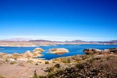 Zona di ricreazione nazionale dell'idromele del lago Fotografia Stock Libera da Diritti