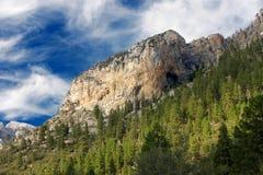 Zona di ricreazione nazionale delle montagne della sorgente Fotografie Stock Libere da Diritti
