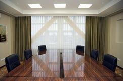 Zona di riunione della sala del consiglio Fotografie Stock