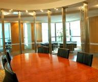 Zona di riunione della sala del consiglio Fotografie Stock Libere da Diritti