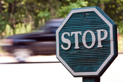 Zona di velocità Fotografia Stock