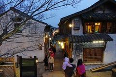 Zona escénica del oeste de Wuzhen Imágenes de archivo libres de regalías