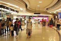 Zona esente da dazio di Delhi all'aeroporto di IGI, India Fotografia Stock Libera da Diritti