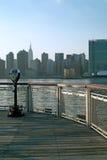 Zona este de la parte superior de Manhattan Nueva York Fotos de archivo libres de regalías